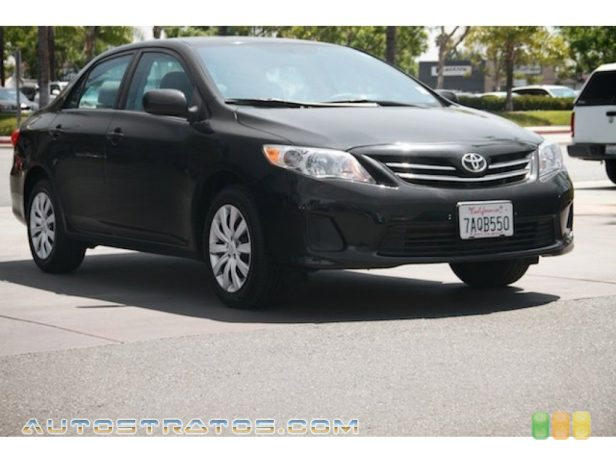 2013 Toyota Corolla LE 1.8 Liter DOHC 16-Valve Dual VVT-i 4 Cylinder 4 Speed ECT-i Automatic