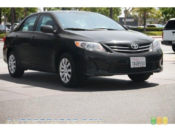 2013 Toyota Corolla LE 1.8 Liter DOHC 16-Valve Dual VVT-i 4 Cylinder 4 Speed ECT-i Automatic