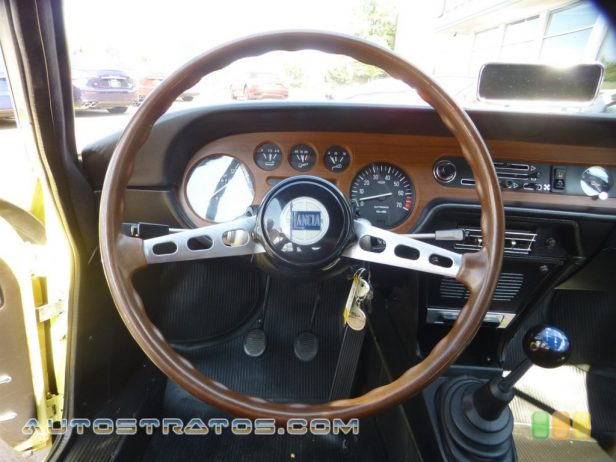 1971 Lancia Fulvia S 1.3 Liter OHC 8-Valve V4 Manual