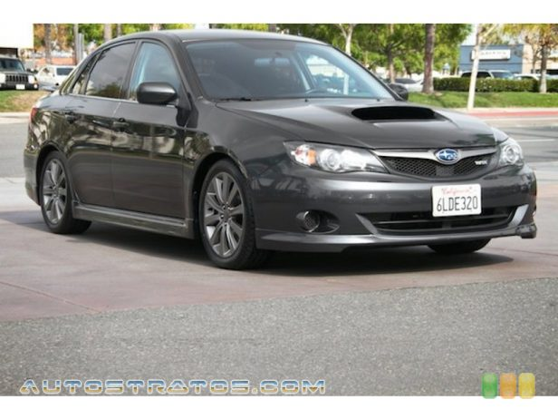 2010 Subaru Impreza WRX Sedan 2.5 Liter Turbocharged SOHC 16-Valve VVT Flat 4 Cylinder 5 Speed Manual