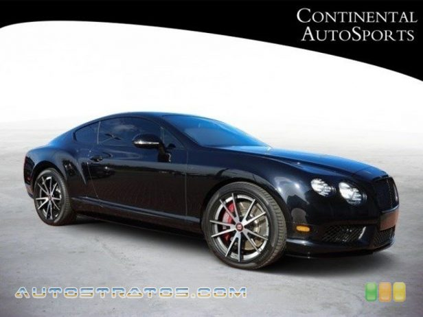 2014 Bentley Continental GT V8 S 4.0 Liter Twin Turbocharged DOHC 32-Valve VVT V8 6 Speed Automatic
