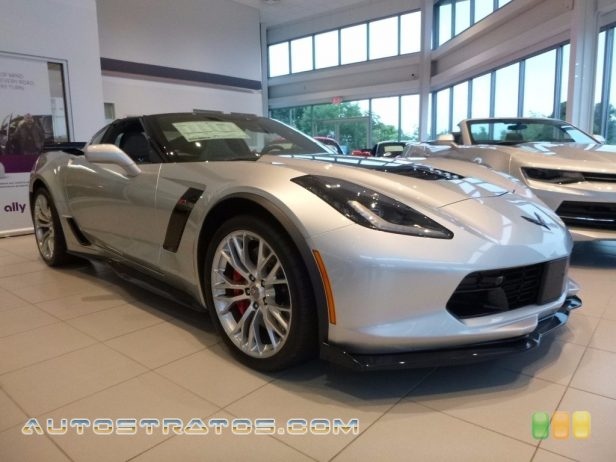 2016 Chevrolet Corvette Z06 Coupe 6.2 Liter Supercharged DI OHV 16-Valve VVT V8 8 Speed Paddle Shift Automatic