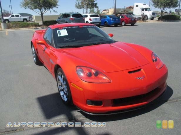 2013 Chevrolet Corvette Grand Sport Coupe 6.2 Liter OHV 16-Valve LS3 V8 6 Speed Paddle Shift Automatic