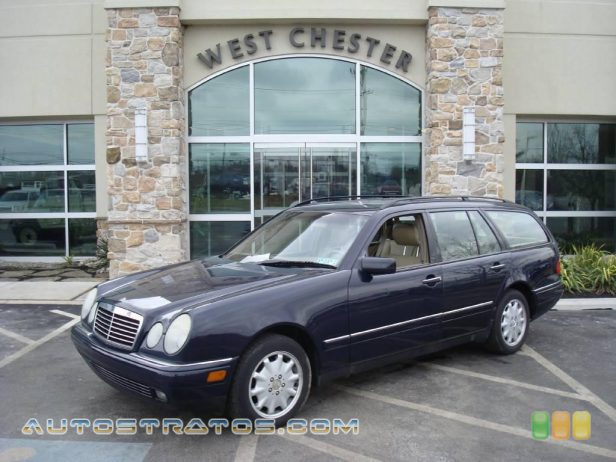 1999 Mercedes-Benz E 320 4Matic Wagon 3.2 Liter SOHC 18-Valve V6 5 Speed Automatic