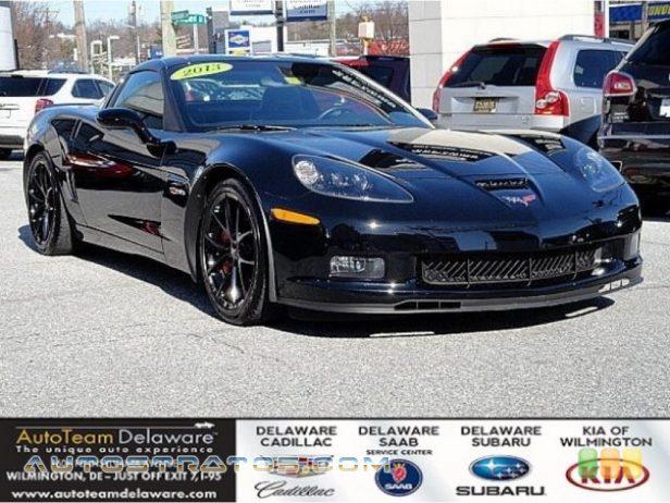 2013 Chevrolet Corvette Coupe 7.0 Liter/427 cid OHV 16-Valve LS7 V8 6 Speed Manual