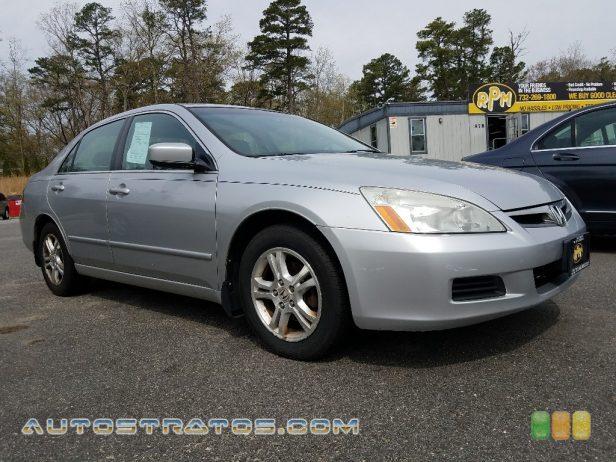 2007 Honda Accord EX-L Sedan 2.4L DOHC 16V i-VTEC 4 Cylinder 5 Speed Automatic