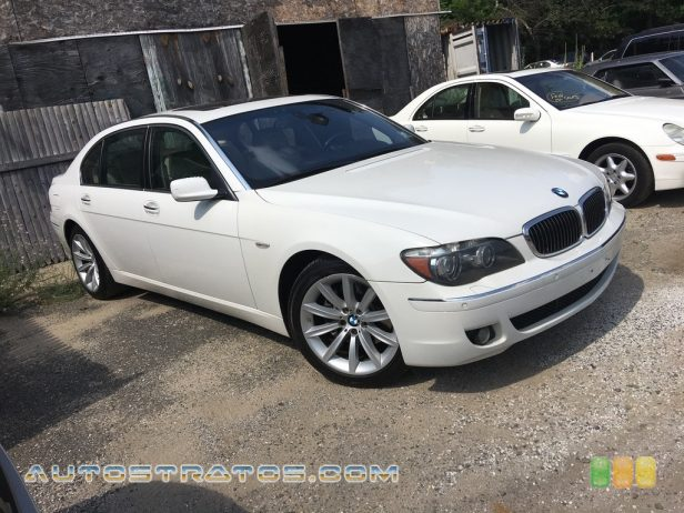 2007 BMW 7 Series 750Li Sedan 4.8 Liter DOHC 32-Valve VVT V8 6 Speed Automatic