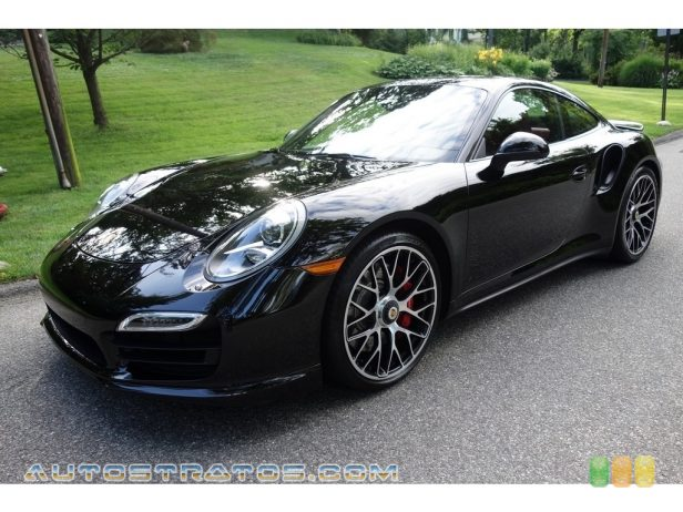 2015 Porsche 911 Turbo Coupe 3.8 Liter DFI Twin-Turbocharged DOHC 24-Valve VarioCam Plus Flat 7 Speed PDK double-clutch Automatic