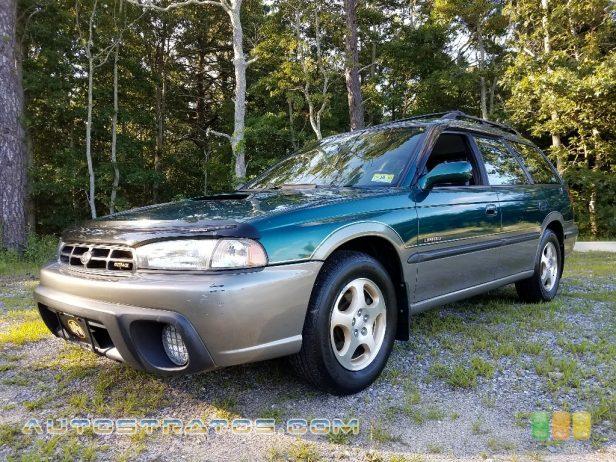 1998 Subaru Legacy Outback Wagon 2.5 Liter DOHC 16-Valve Flat 4 Cylinder 4 Speed Automatic