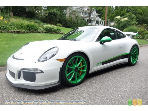 2015 Porsche 911 GT3 3.8 Liter GT3 DFI DOHC 24-Valve VarioCam Plus Flat 6 Cylinder 7 Speed PDK double-clutch Automatic