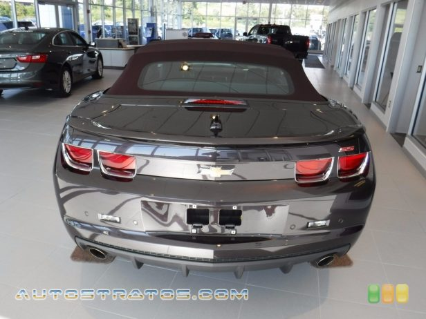 2011 Chevrolet Camaro Neiman Marcus Edition SS/RS Convertible 6.2 Liter OHV 16-Valve V8 6 Speed TAPshift Automatic