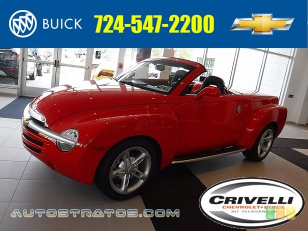 2004 Chevrolet SSR  5.3 Liter OHV 16-Valve V8 4 Speed Automatic