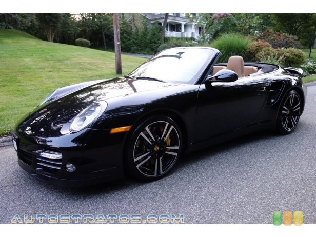 2011 Porsche 911 Turbo S Cabriolet 3.8 Liter Twin-Turbocharged DOHC 24-Valve VarioCam Flat 6 Cylind 7 Speed PDK Dual-Clutch Automatic