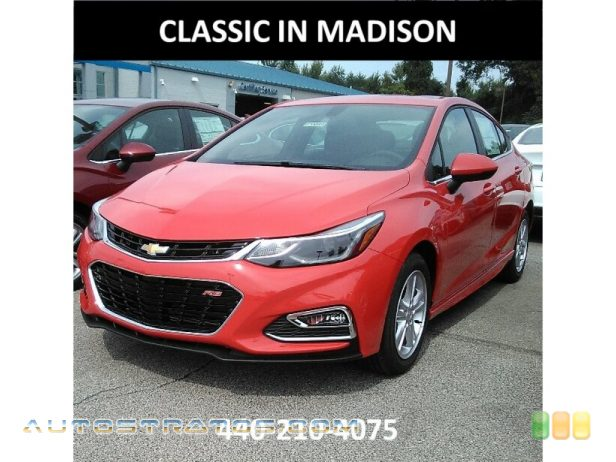 2018 Chevrolet Cruze LT 1.4 Liter Turbocharged DOHC 16-Valve CVVT 4 Cylinder 6 Speed Automatic