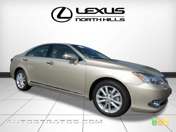 2012 Lexus ES 350 3.5 Liter DOHC 24-Valve VVT-i V6 6 Speed ECT-i Automatic