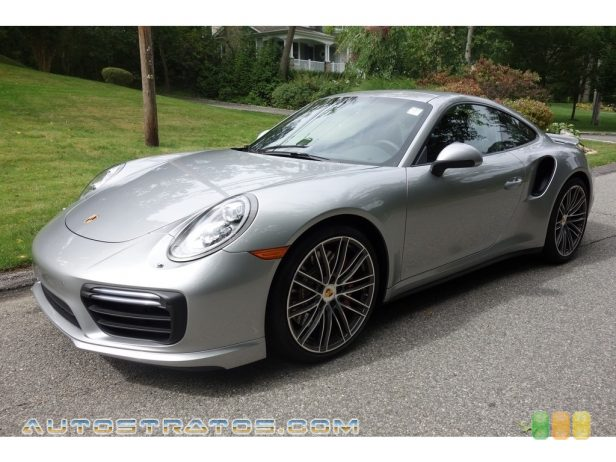 2017 Porsche 911 Turbo Coupe 3.8 Liter DFI Twin-Turbocharged DOHC 24-Valve Variocam Plus Horz 7 Speed PDK Automatic