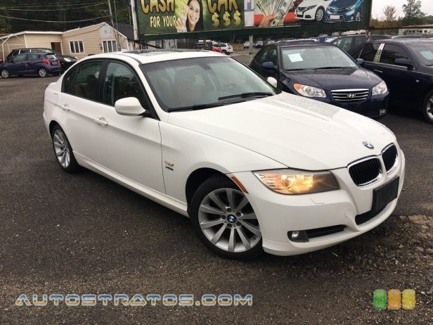 2011 BMW 3 Series 328i xDrive Sedan 3.0 Liter DOHC 24-Valve VVT Inline 6 Cylinder 6 Speed Steptronic Automatic