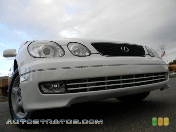 1999 Lexus GS 300 3.0 Liter DOHC 24-Valve VVT-i Inline 6 Cylinder 5 Speed Automatic