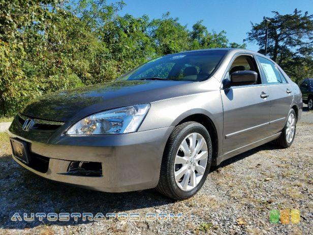 2007 Honda Accord EX-L V6 Sedan 3.0 Liter SOHC 24-Valve VTEC V6 5 Speed Automatic