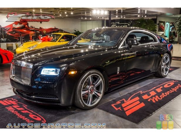 2014 Rolls-Royce Wraith  6.6 Liter Twin Turbocharged DOHC 48-Valve VVT V12 8 Speed Automatic