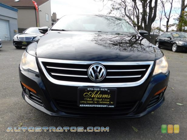 2009 Volkswagen CC Luxury 2.0 Liter FSI Turbocharged DOHC 16-Valve 4 Cylinder 6 Speed Tiptronic Automatic