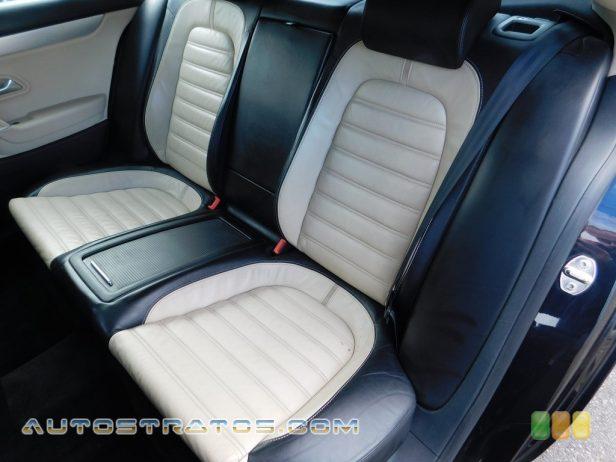 2009 Volkswagen CC Luxury 2.0 Liter FSI Turbocharged DOHC 16-Valve 4 Cylinder 6 Speed Tiptronic Automatic
