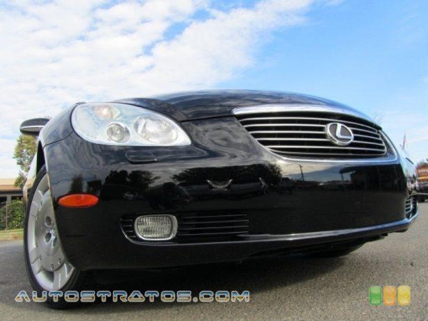 2003 Lexus SC 430 4.3 Liter DOHC 32 Valve VVT-i V8 5 Speed Automatic