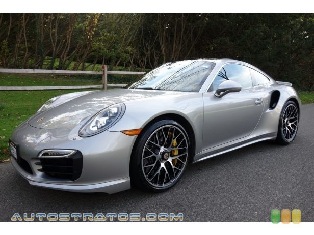 2015 Porsche 911 Turbo S Coupe 3.8 Liter DFI Twin-Turbocharged DOHC 24-Valve VarioCam Plus Flat 7 Speed PDK double-clutch Automatic