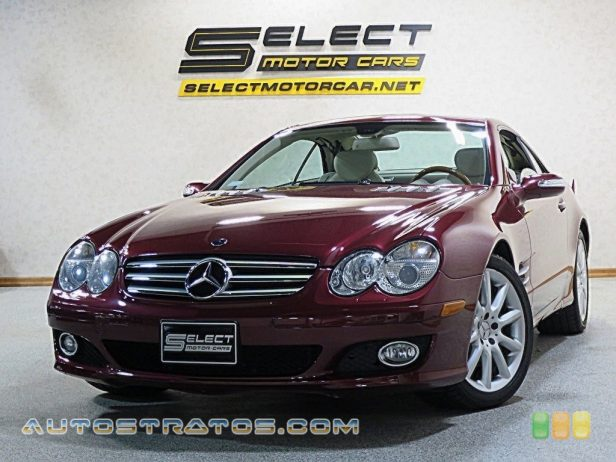 2007 Mercedes-Benz SL 550 Roadster 5.5 Liter DOHC 32-Valve V8 7 Speed Automatic