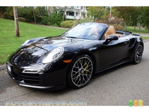 2015 Porsche 911 Turbo S Cabriolet 3.8 Liter DFI Twin-Turbocharged DOHC 24-Valve VarioCam Plus Flat 7 Speed PDK double-clutch Automatic