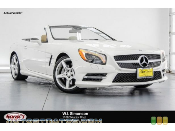 2014 Mercedes-Benz SL 550 Roadster 4.6 Liter Twin-Turbocharged DOHC 32-Valve VVT V8 7 Speed Automatic