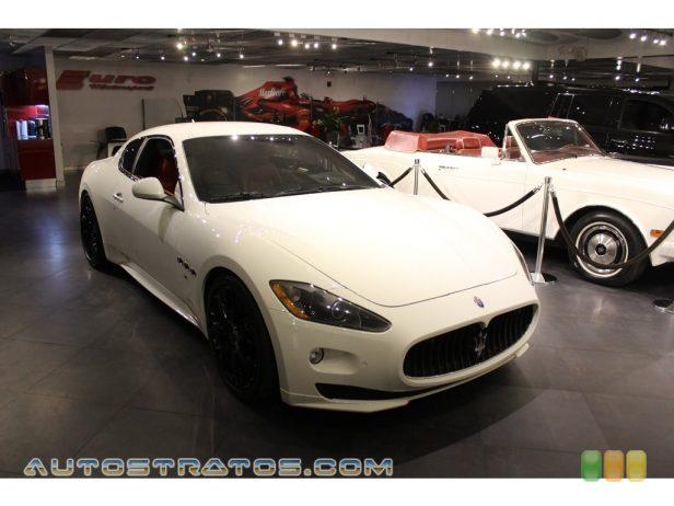 2011 Maserati GranTurismo S Automatic 4.7 Liter DOHC 32-Valve VVT V8 6 Speed ZF Paddle-Shift Automatic