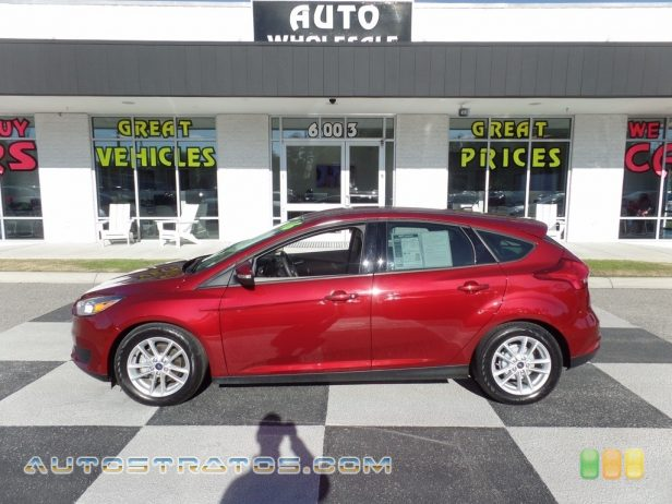 2016 Ford Focus SE Hatch 2.0 Liter DI DOHC 16-Valve Ti-VCT 4 Cylinder 6 Speed PowerShift Automatic