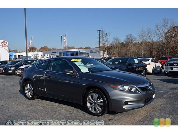2012 Honda Accord LX-S Coupe 2.4 Liter DOHC 16-Valve i-VTEC 4 Cylinder 5 Speed Automatic