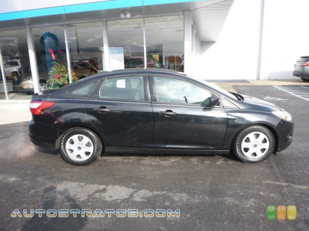 2014 Ford Focus S Sedan 2.0 Liter GDI DOHC 16-Valve Ti-VCT Flex-Fuel 4 Cylinder 6 Speed PowerShift Automatic