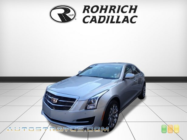 2018 Cadillac ATS Luxury AWD 2.0 Liter Twin-Scroll Turbocharged DI DOHC 16-Valve VVT 4 Cylind 8 Speed Automatic