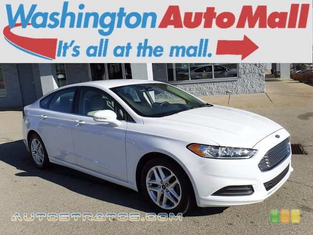 2013 Ford Fusion SE 2.5 Liter DOHC 16-Valve iVCT Duratec 4 Cylinder 6 Speed SelectShift Automatic