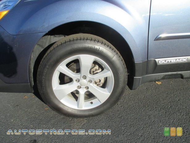 2014 Subaru Outback 2.5i Premium 2.5 Liter DOHC 16-Valve VVT Flat 4 Cylinder Lineartronic CVT Automatic