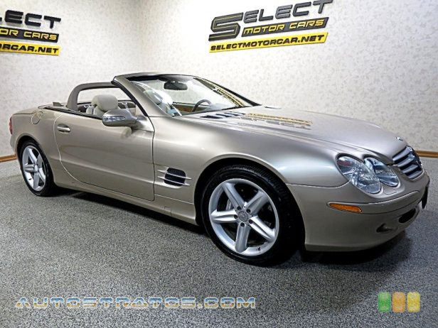 2004 Mercedes-Benz SL 500 Roadster 5.0 Liter SOHC 24-Valve V8 7 Speed Automatic
