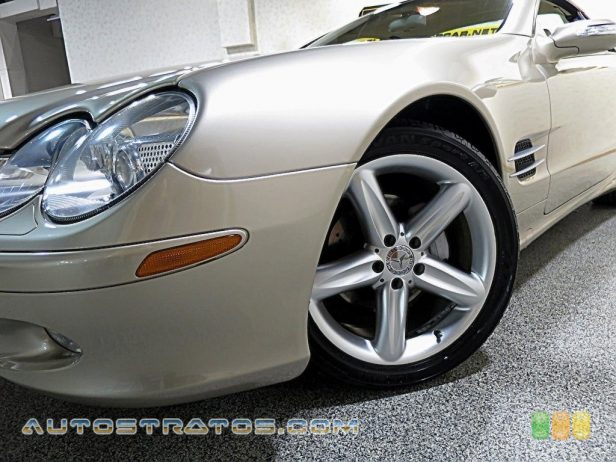 2004 Mercedes-Benz SL 500 Roadster 5.0 Liter SOHC 24-Valve V8 7 Speed Automatic