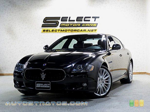 2012 Maserati Quattroporte S 4.7 Liter DOHC 32-Valve VVT V8 6 Speed ZF Automatic