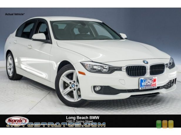 2014 BMW 3 Series 320i Sedan 2.0 Liter DI TwinPower Turbocharged DOHC 16-Valve 4 Cylinder 8 Speed Steptronic Automatic