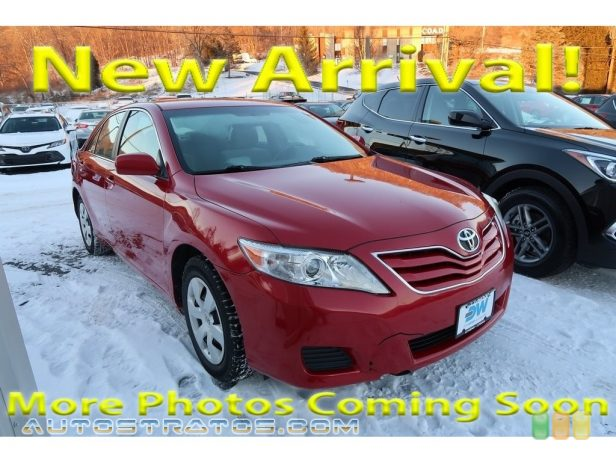 2010 Toyota Camry LE 2.5 Liter DOHC 16-Valve Dual VVT-i 4 Cylinder 6 Speed Automatic