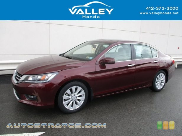 2014 Honda Accord EX-L Sedan 2.4 Liter Earth Dreams DI DOHC 16-Valve i-VTEC 4 Cylinder CVT Automatic