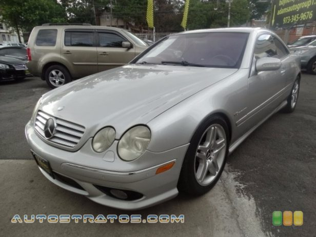 2003 Mercedes-Benz CL 55 AMG 5.4 Liter AMG Supercharged SOHC 24-Valve V8 5 Speed Automatic