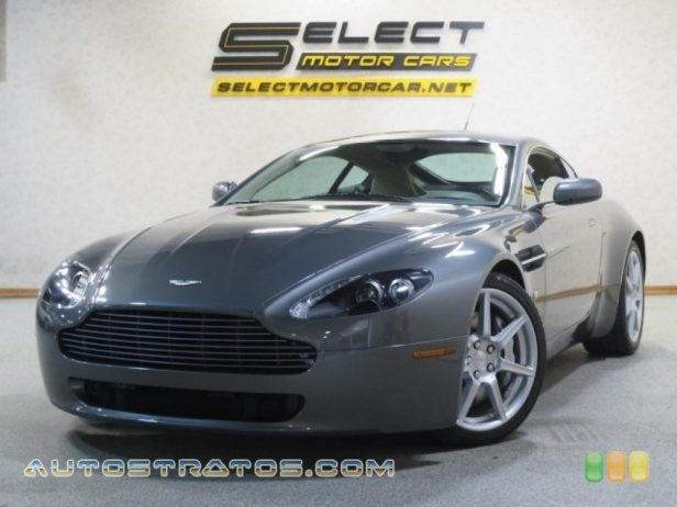 2006 Aston Martin V8 Vantage Coupe 4.3 Liter DOHC 32V VVT V8 6 Speed Manual