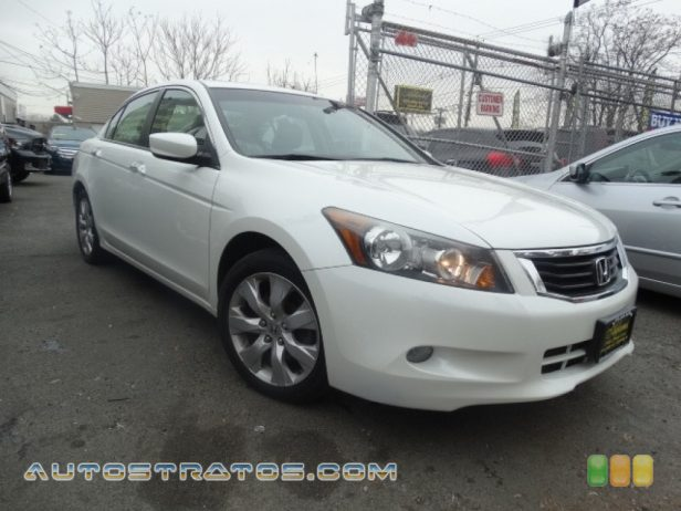 2010 Honda Accord EX-L V6 Sedan 3.5 Liter VCM DOHC 24-Valve i-VTEC V6 5 Speed Automatic