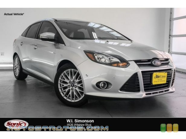 2013 Ford Focus Titanium Sedan 2.0 Liter GDI DOHC 16-Valve Ti-VCT Flex-Fuel 4 Cylinder 6 Speed Automatic