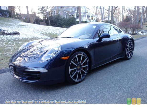 2013 Porsche 911 Carrera 4S Coupe 3.8 Liter DFI DOHC 24-Valve VarioCam Plus Flat 6 Cylinder 7 Speed PDK Dual-Clutch Automatic