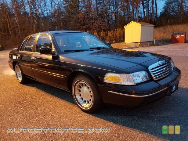 1999 Ford Crown Victoria LX 4.6 Liter SOHC 16-Valve V8 4 Speed Automatic